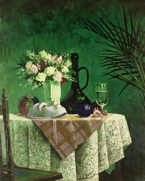 緑の部屋:カーニバルマスク